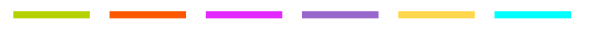 Ligne couleurs référentiel