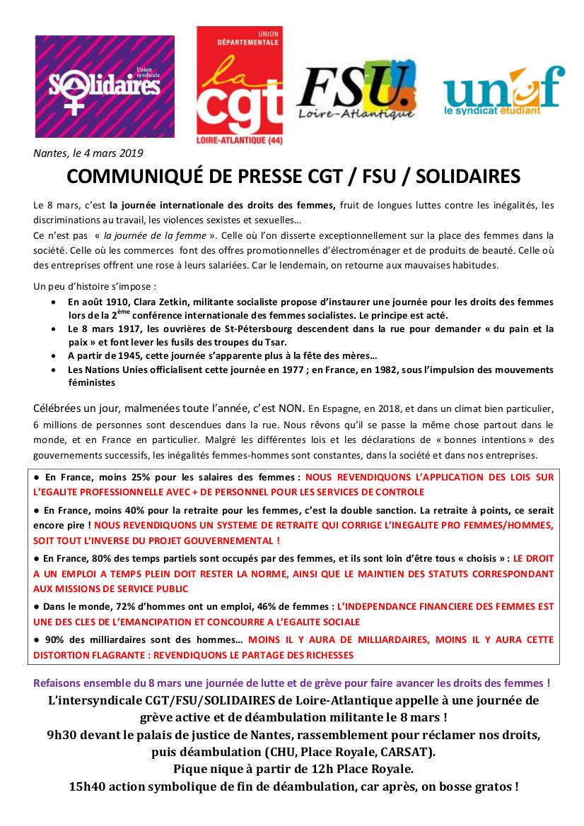 4d1755be5f0 8 mars journée de lutte et de grève pour faire avancer les droits ...